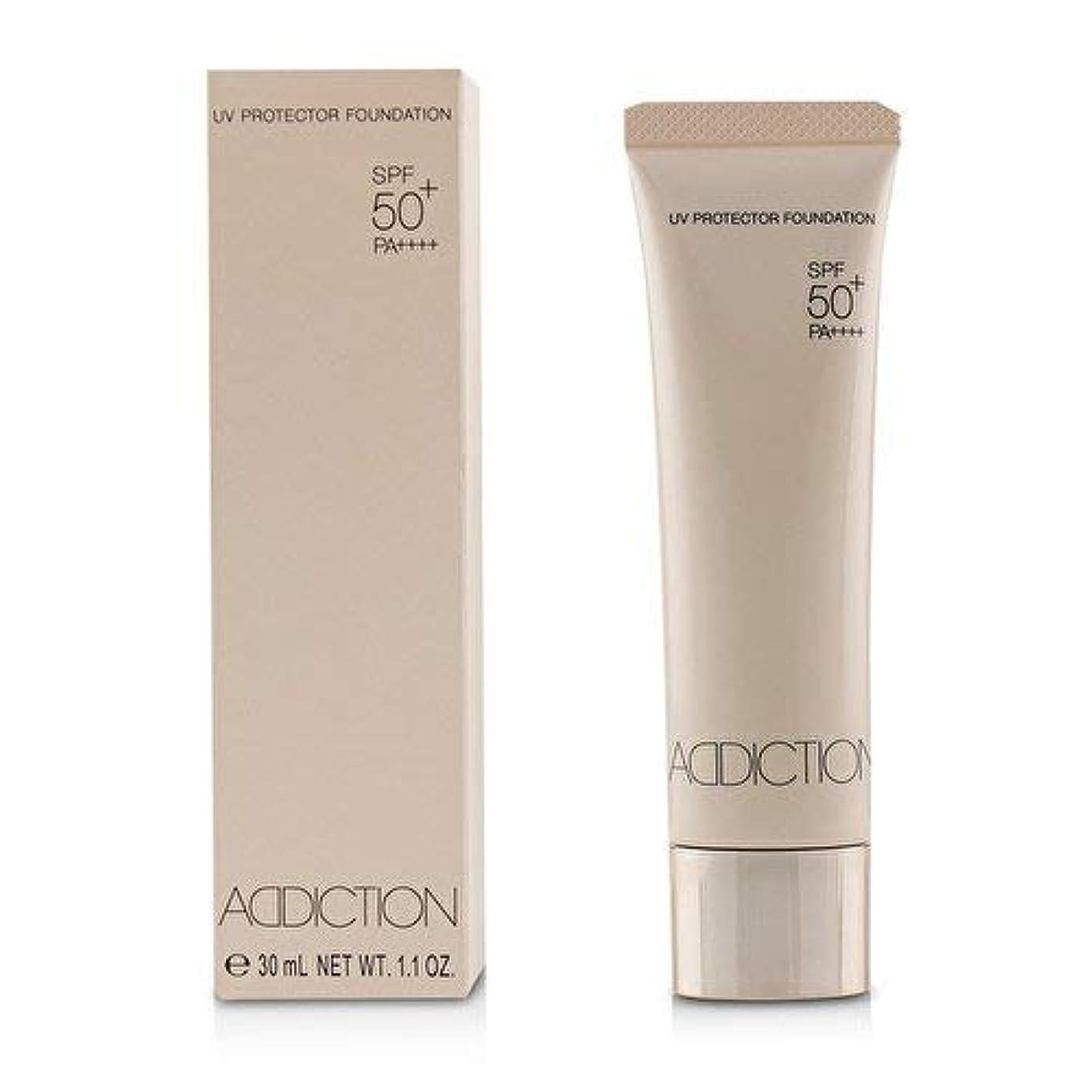 不運腹部クラウドアディクション UVプロテクターファンデーション # 005 (Nude Ivory)