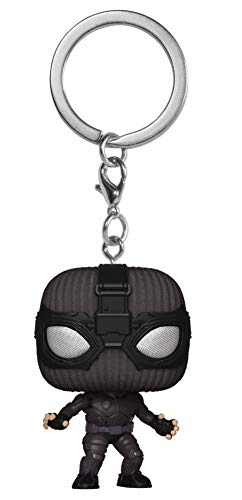 Funko Pocket POP! Spider-Man: Far from Home - Spider-Man (Stealth Suit) Bobble-Head Figure Keychain