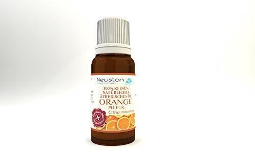 Neuston Orange Citrus aurantium - 100% reines und natürliches ätherisches Öl, 10 ml