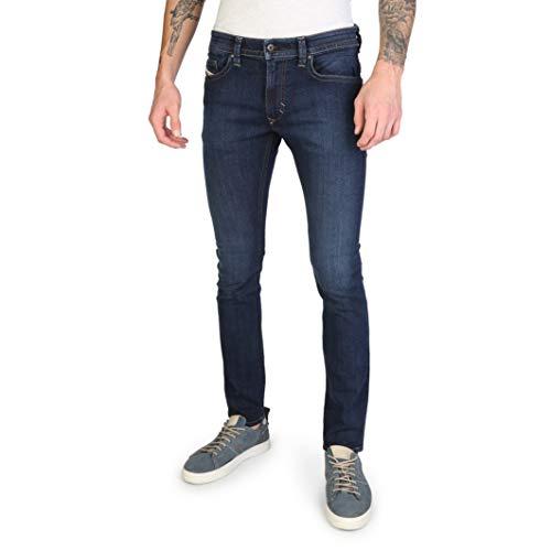 Diesel Jeans Thavar RV418 Herren Hose Slim Skinny Indigo dunkelblau