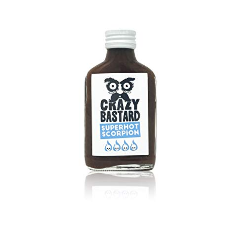 Crazy B. Superhot Scorpion - Super scharfe Chili-Sauce mit 50% Trinidad Scorpion Chili