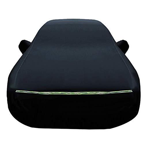 N&A wasserdichte Autoabdeckung Kompatibel mit Acura RL RLX IRLX Sport Hybrid RSX SLX TL TLX TSX ZDX Die ganze Größe (Color : Black, Size : TLX)