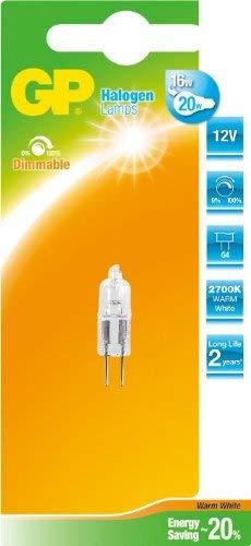 GP LIGHTING 056478-HLME1 14W G4 B Blanco cálido - Lámpara (14 W, G4, Blanco cálido, 2000 h, Cápsula, 235 LM)