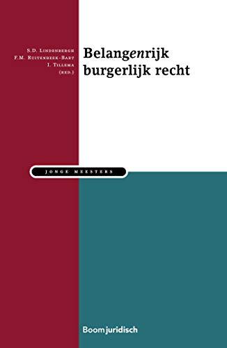 Belangenrijk burgerlijk recht (Jonge meesters) (Dutch Edition)
