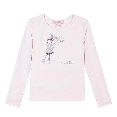 Lili Gaufrette Laphoto Camiseta, Beige (Blush 302), 8 años (Talla del Fabricante: 8A) para Niñas