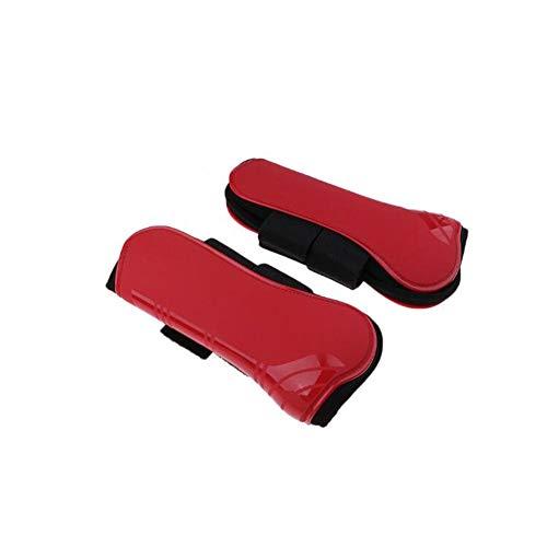 ETbotu outdoor versnelling, geschenken voor mannen vrouwen - Paard Voorbeen Beschermer Zachte Leggings PU + Duikmateriaal Beenbeschermer