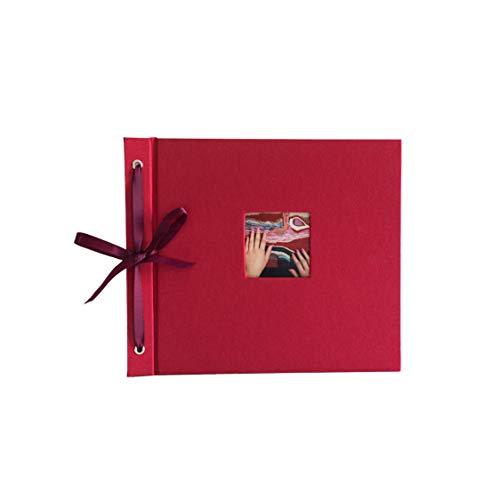 "Kolo Newbury Scrapbook, 8.5"" x 10"", Red"