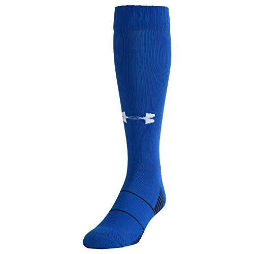 Under Armour Over-The-Calf équipe Chaussettes – Royal, Grand