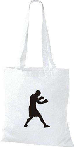 Unbekannt Stoffbeutel Boxen Boxer WBA WBO Klitschko Baumwolltasche, Beutel, Farbe weiss