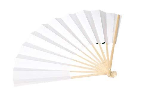 紙扇子 白無地 白扇 せんす 9寸 長さ27cm /Z331S