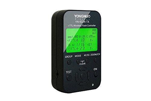 Yongnuo YN-622N-TX i-TTL kabellose Funkauslöser für Nikon D70, D70S, D80, D90, D200, D300S, D600, D700, D800, D3000, D3100, D3200, D5000, D5100, D5200, D5300, D7000, D7100Kameras