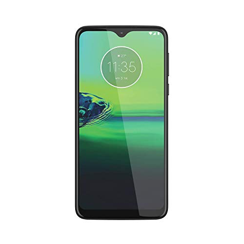 Motorola Moto G8 Play XT2015-2 (32GB) 6.2' (19:9) HD+ 4G LTE GSM Factory Unlocked Smartphone (International Version) (Obsidian Grey)
