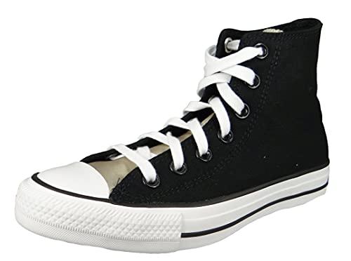 Converse CTAS Hi - Black/White/White Canvas