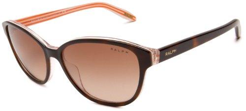 Ralph Lauren Purple Label Damen RA5128 Sonnenbrille, Braun (Havana 977/13), One size (Herstellergröße: 55)
