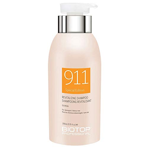 Biotop Professional 911 Quinoa Shampoo for Damaged Hair 11.15 fl oz (330ml)