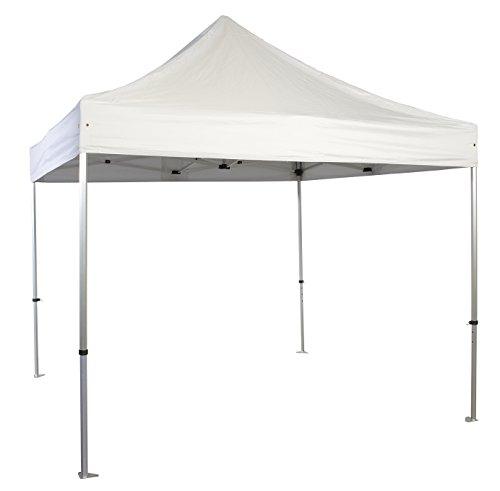 Tente Pliante en Alu 40mm 3x3m avec Toit en 320gr Polyester enduit PVC