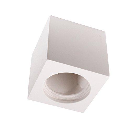 Boggia Faretto lampada plafoniera soffitto Cubetto scomparsa in gesso pitturabile 123