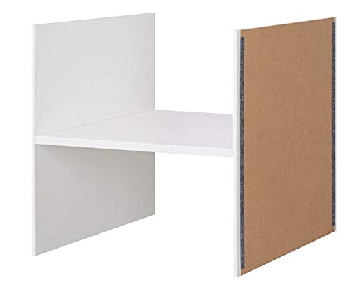 Ikea KALLAX Insert avec 1 étagère Blanc 33 x 33 cm