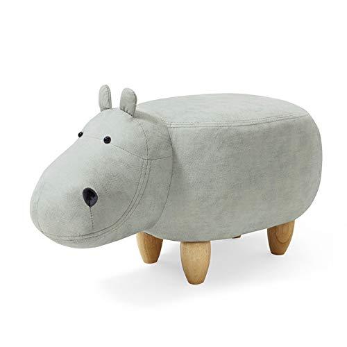 JQes Tabouret-Pouf Animal Series - Banc pour Chaussures - Banc avec Canapé, Ottoman pour Enfants, Tabouret pour Animaux Vif Et Mignon, Siège Créatif, Cadeau pour Les Enfants
