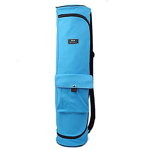 HHH Yoga Mat Gym Bag Bolsas de Fitness para Mujeres Hombres Entrenamiento Deportes de Viaje al Aire Libre Bolsa de Mano Bolsillos de Almacenamiento Multifuncionales Bolsa Duradera