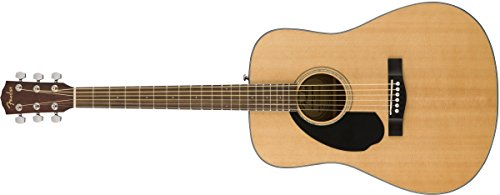 Fender CD-60S Dreadnought WN Natural LH. Guitarra Acústica para Zurdos