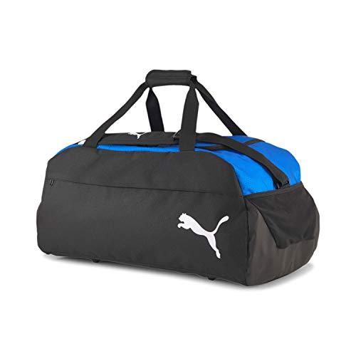 PUMA teamFINAL 21 Teambag M Bolsa Deporte, Unisex-Adult, Electric Blue Lemonade Black, OSFA