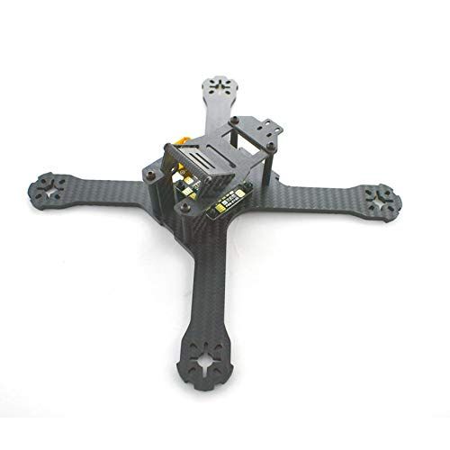 HELEISH Realacc X210 214mm 3 mm / 4 mm Cadre en fibre de carbone RC Drone FPV Racing w/Matek APB-XT60 5V et 12V Pièces d'assemblage de bricolage (Color : Model 4mm (+US$1.00))