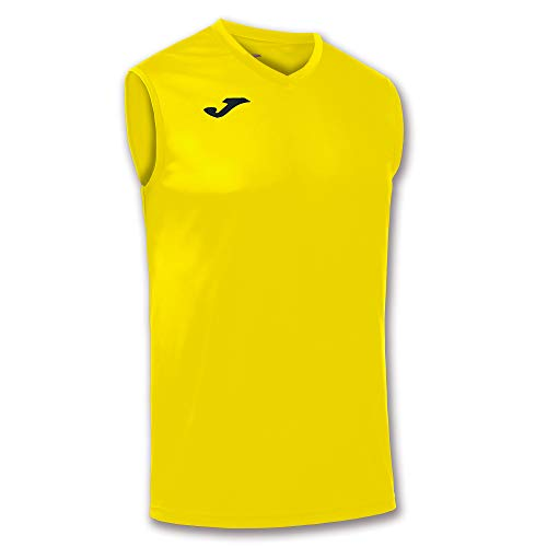 Joma Combi Camiseta, Hombres, Amarillo, S