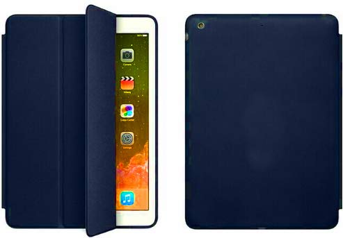 Capa Para Apple Ipad Mini 4- Smart Case - Diversas Cores (Azul Escuro)