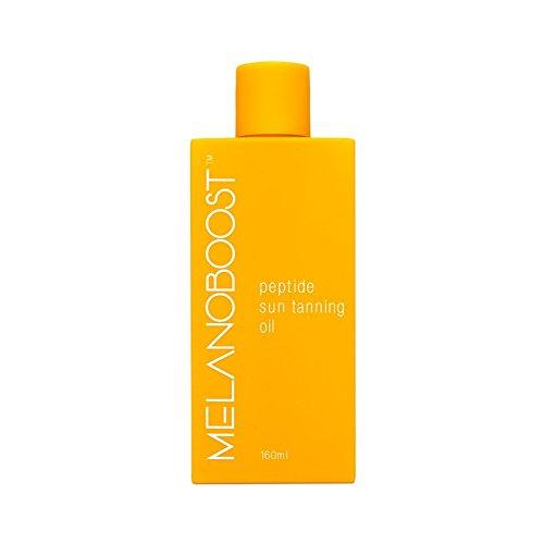Melanoboost Peptide Sun Tanning Oil - Melanin Boost Tan Accelerator Oil - Peptide Tanning - Sunbed lotion -Tanning Bed Accelerator - Dark Tanning Oil - Australian Sun Tanning Oil