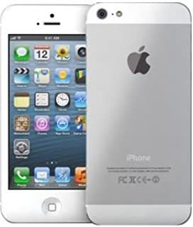 Apple Iphone 5 With Facetime - 32 GB, 4G LTE, White & Silver