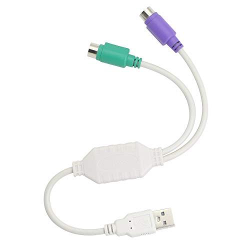 PS/2 a USB Cable USB a PS/2 Plug Active USB a Dual...