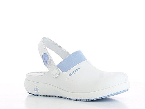 Oxypas Doria, Women's Safety Shoes, White (Lbl), 7 UK (41 EU)