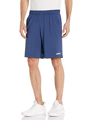 adidas - Pantalones Cortos para Hombre Azul Índigo/Blanco 3XL
