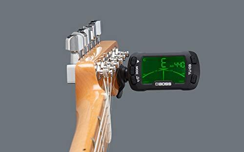 BOSSTU-03CLIP-ONTUNER&METRONOMEギター/ベースクリップチューナーボス