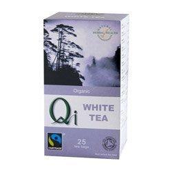QI Fairtrade White Tea 1 x 25 bags. Known bar codes: 653783000288, 653783000288.