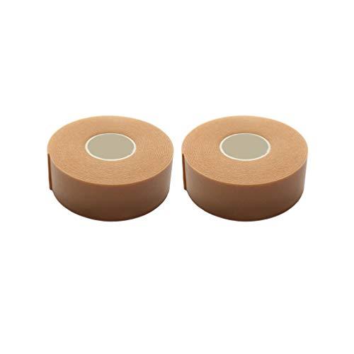Lurrose 2Pcs Bande de Mousse de Cils Rubans Adhésifs Cils Patchs D'isolation D'extension de Cils pour Outils de Maquillage (Brun)