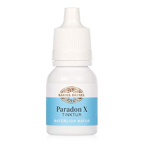 BÄRBEL DREXEL® Zahnfleischpflege Paradon X Tinktur Bei Entzündung + Zahnfleischproblemen, Antibakteriell, Pflanzliche Behandlung (10ml) 100% Vegane Herstellung Deutschland Ätherische Öle