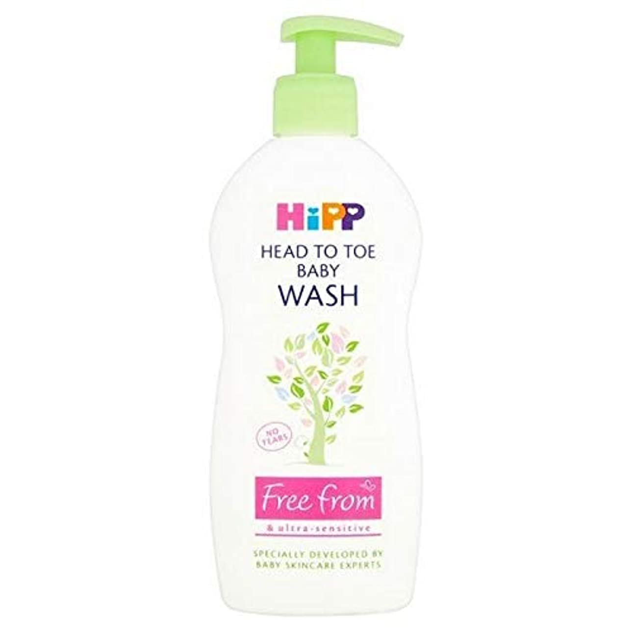 ロイヤリティプラグ冒険者[Hipp ] 頭からつま先洗浄400ミリリットルにヒップ無料 - HiPP Free From Head to Toe Wash 400ml [並行輸入品]