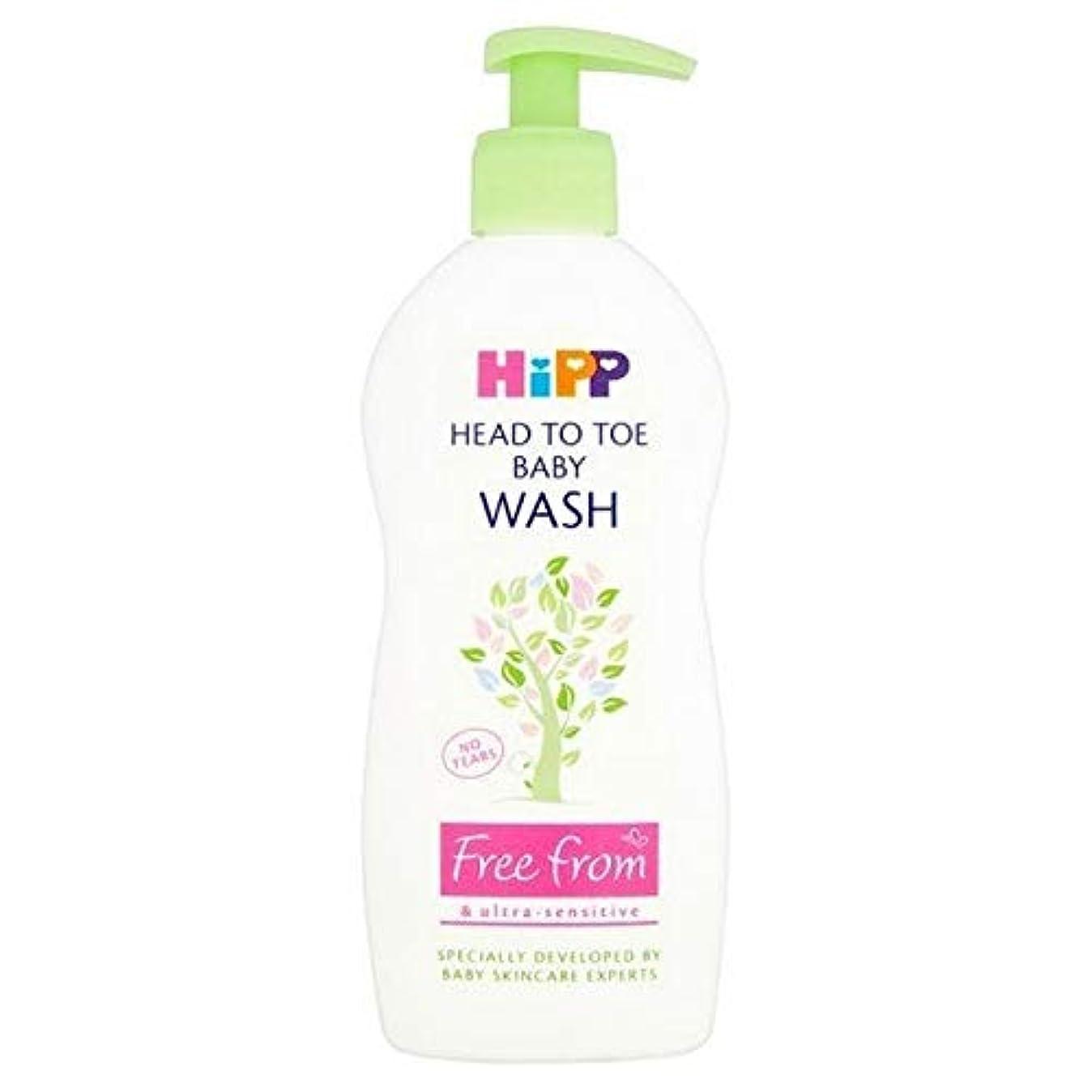 反対にカメボーカル[Hipp ] 頭からつま先洗浄400ミリリットルにヒップ無料 - HiPP Free From Head to Toe Wash 400ml [並行輸入品]