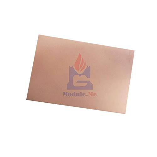 75x100x1.5mm FR4 Copper Clad Laminate Sheet Circuit Double Sided PCB 10X7.5cm