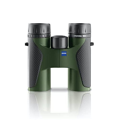 Zeiss Terra ED 8x32 Fernglas schwarz/grün – robust, leicht und kompakt – für gestochen scharfe Bilder egal bei welchem Wetter