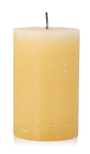Outdoor Kerze, Finca Kerze Bisquit, 20 x 12 cm, Kerzen nur im freien verwenden