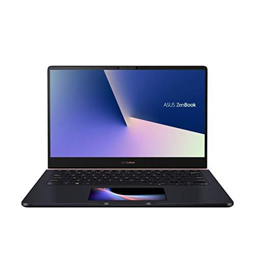 """Asus Zenbook UX480FD-BE027T Ultrabook 14"""" Bleu nuit (Intel Core i7, 8 Go de RAM, SSD 256 Go, Nvidia GeForce GTX1050 avec 4 Go, Windows 10) Clavier AZERTY Français [Ancien Modèle]"""