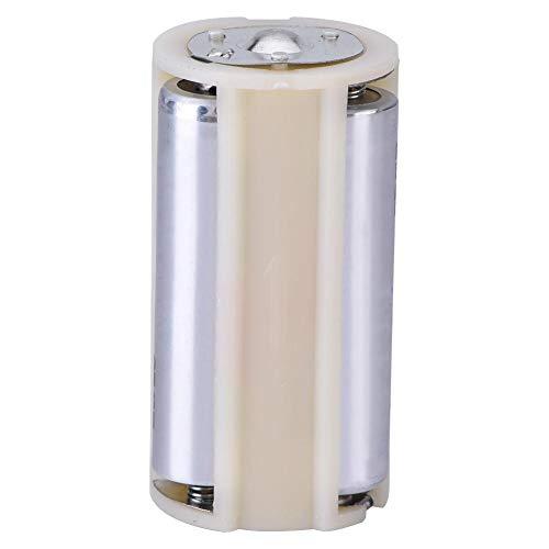 Kafuty 10 STÜCKE Batteriekonverter 3AA zu 1 D Größe Reihenschaltung Batterie Adapter Halter Fall Box