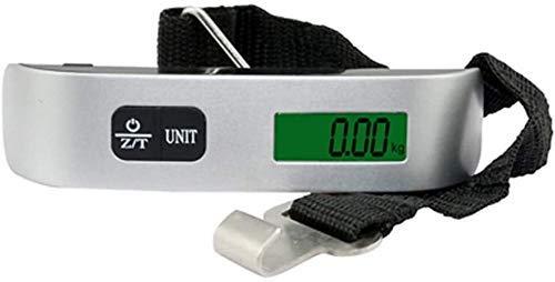 kaige Mini balanza Digital, 1Pc 50Kg 10G electrónico Portable Colgante Digital del Peso del Equipaje Escala de Carrera WKY