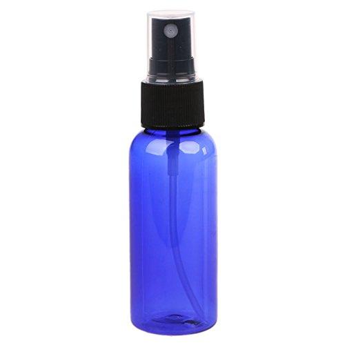 Junlinto 50ml Rechargeable Presse Pompe Bouteille De Pulvérisation Liquide Conteneur Parfum Atomiseur Voyage Bleu