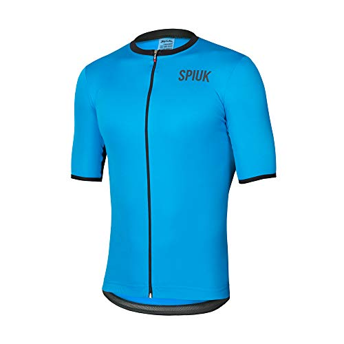 Spiuk Maillot M/C Anatomic Hombre Azul T. S