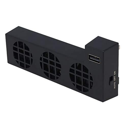 balikha Enfriador Turbo-Ventilador Externo Negro para Xbox One X