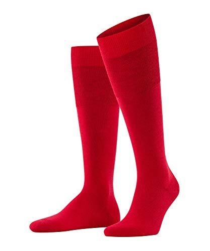 FALKE Herren Airport M KH Socken, Blickdicht, Rot (Scarlet 8120), 45-46 (UK 10-11 Ι US 11-12)